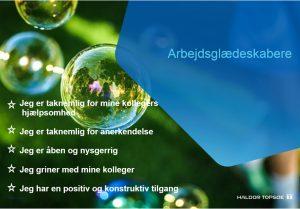 Arbejdsglæde citater hos Haldor Topsøe 2019